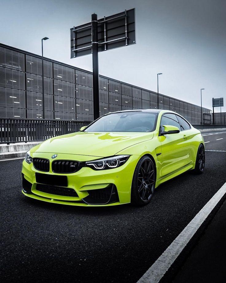 Bmwcars: BMW F82 M4 In BMW Individual Birch Green