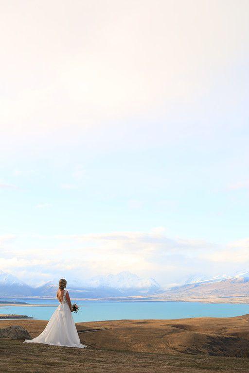 Lake Tekapo Winter Wedding Photography, New Zealand