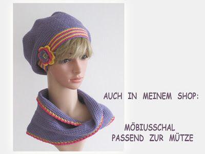 DIY-Anleitungen zum Selber Machen: Häkeln ...: Häkelanleitung: Beanie, Mütze mit Blume häkeln - G...