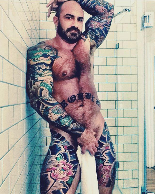 Pin by richie eccles on ink pinterest shower time gay for How to shower with a new tattoo