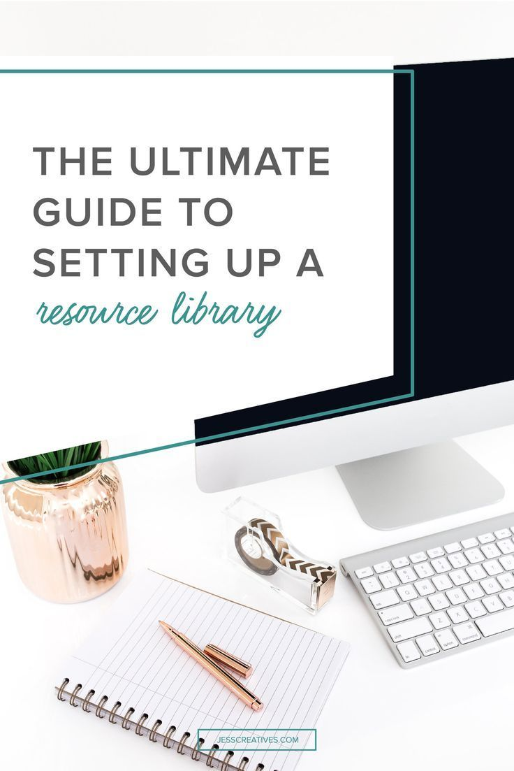 A resource library is a great way to provide value to your audience, and grow your email list. You're probably very familiar with people creating an opt-in to grow their email list, but some people (like me), have more than one opt-in. There are different ways to set up your resource library, and different advantages to each, which I'll cover in this post!