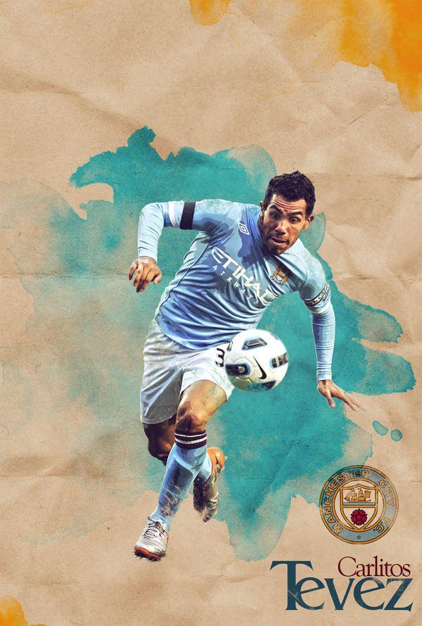 Vintage Soccer by Davide Clara, via Behance