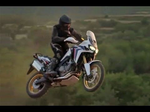 What it's like to ride the new Africa Twin - YouTube