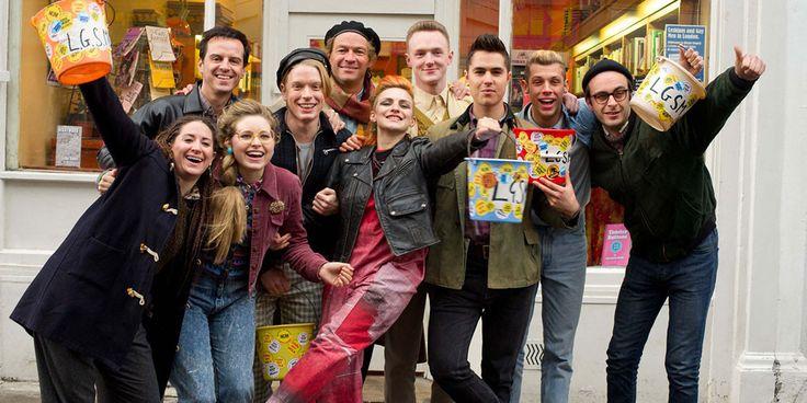 I love the costumes in the film Pride!