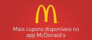Cupom de Desconto McDonald's - até 70% de Desconto.
