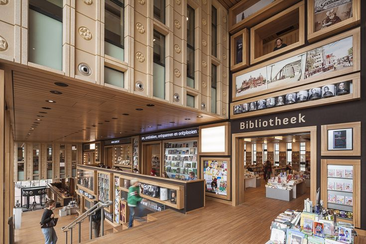 Rozet in Arnhem, the Netherlands. I'm so thrilled with this new library in town!
