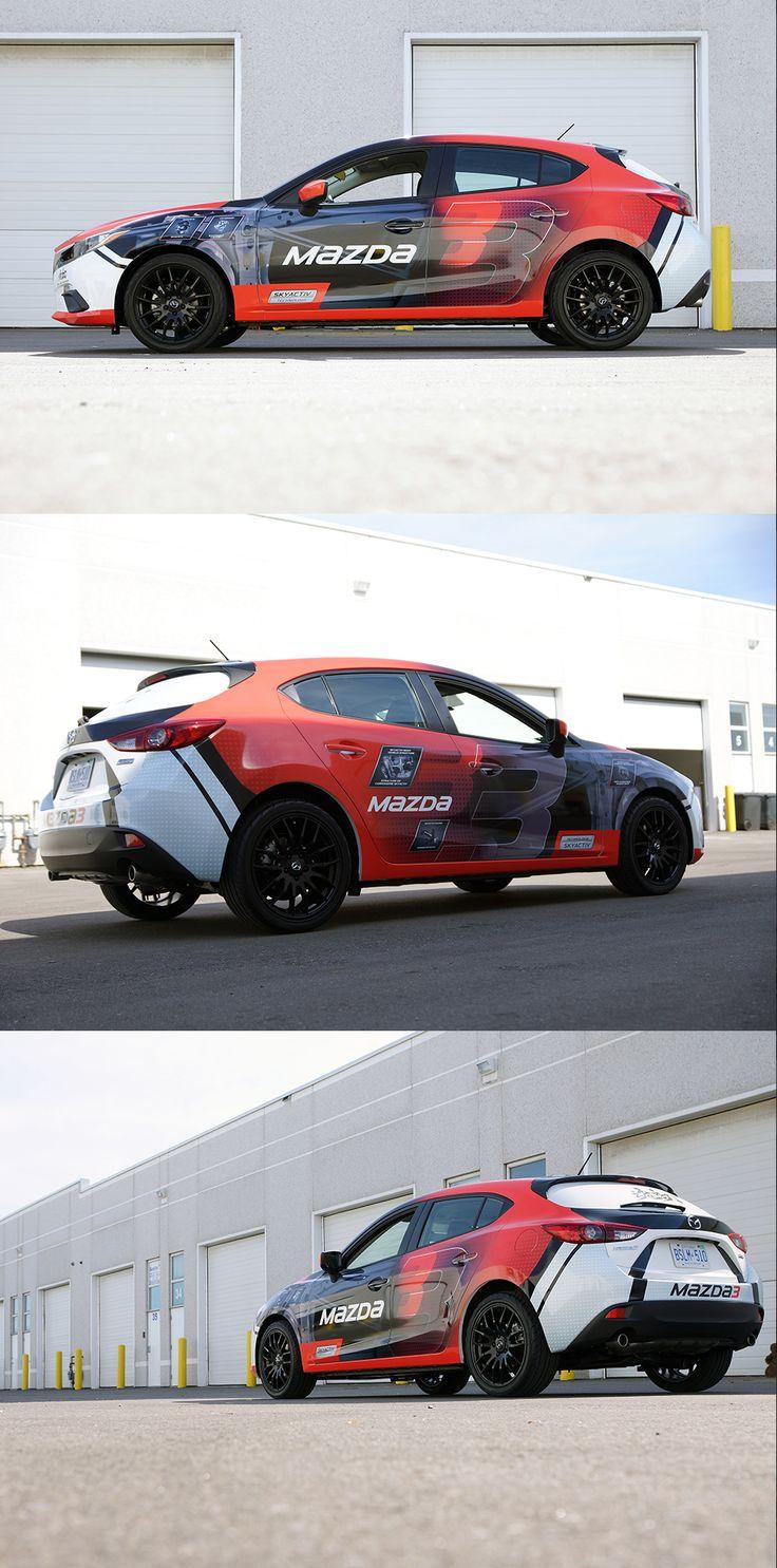 Sport car sticker design - Auto Mazda 3