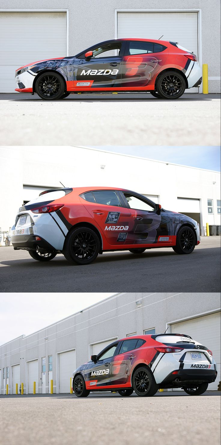 Viva car sticker design - Auto Mazda 3