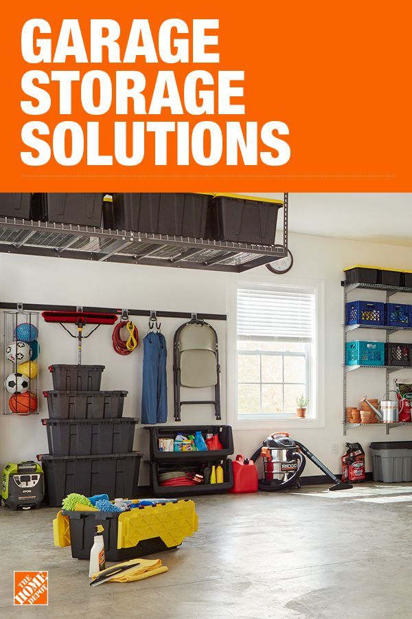 The Home Depot Has Everything You Need For Your Home Improvement Projects Click Through To Lear Garage Storage Solutions Garage Storage Shelves Garage Storage