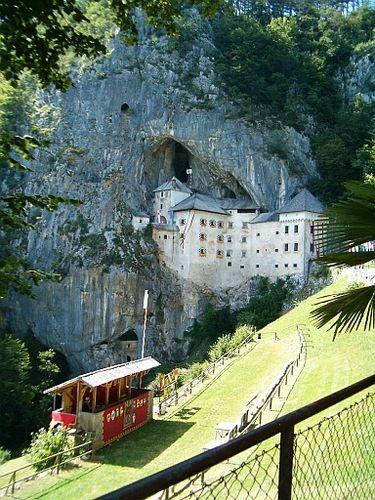 Predjama Castle, Slovenia  http://www.vacationrentalpeople.com/vacation-rentals.aspx/World/Europe/Slovenia