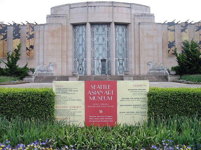 The Seattle Asian Art Museum Reflects the Unique Seattle Character.  Free every first Thursday.