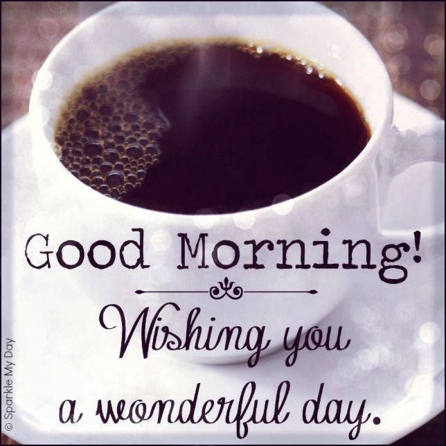 GOOD MORNING!(: Hope everyone's day is splendid!(: xxx