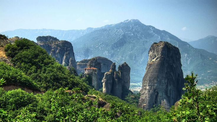 monasteries of Meteora, Greece