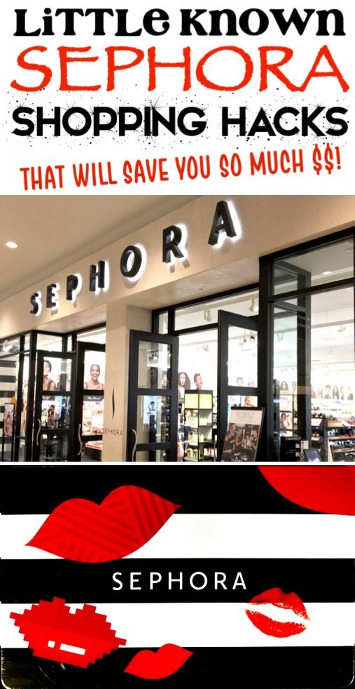 Sephora Hacks And Must Haves How To Get A Free Gift Card For Your Favorite Makeup And Lip Stain Plus Little Kno Sephora Gift Card Sephora Hacks Shopping Hacks