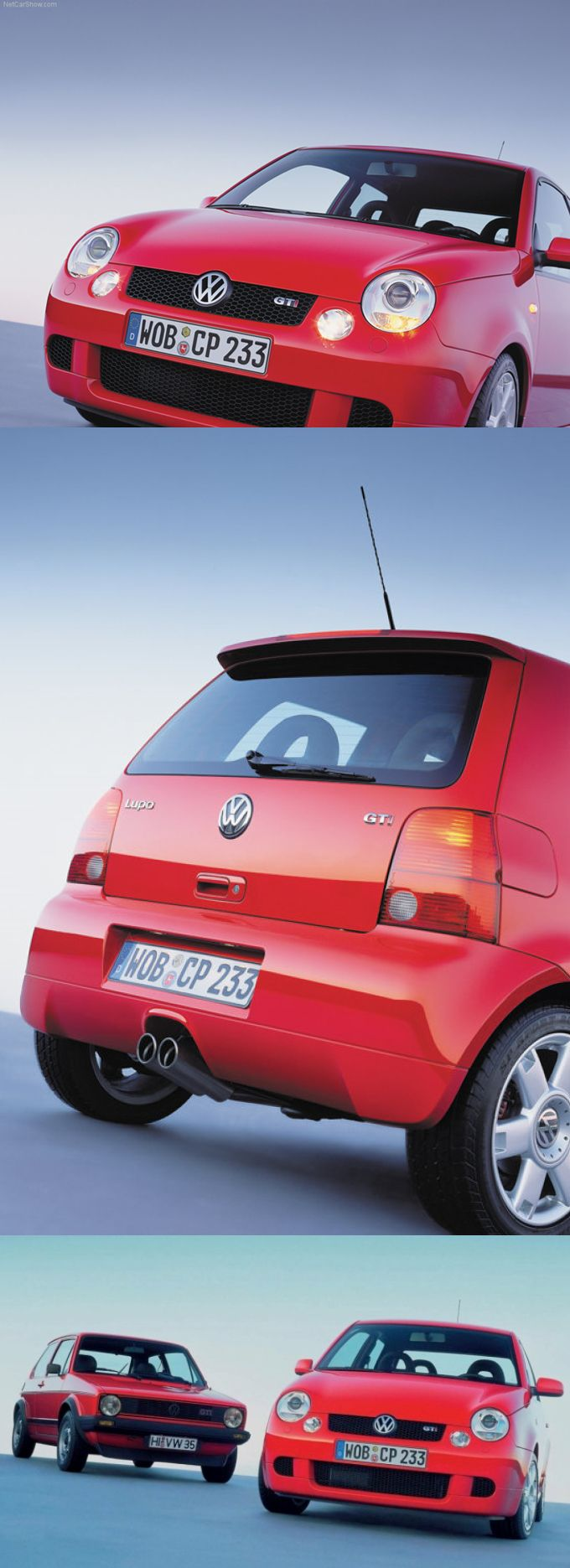 2000 VW Lupo GTi / 123hp / Germany / red / 17-192