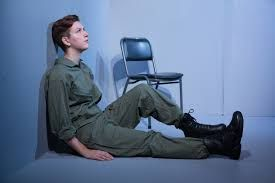 Grounded by George Brant Cellar Theatre, 2015 with Alice Birbara directed and designed by Victor Kalka
