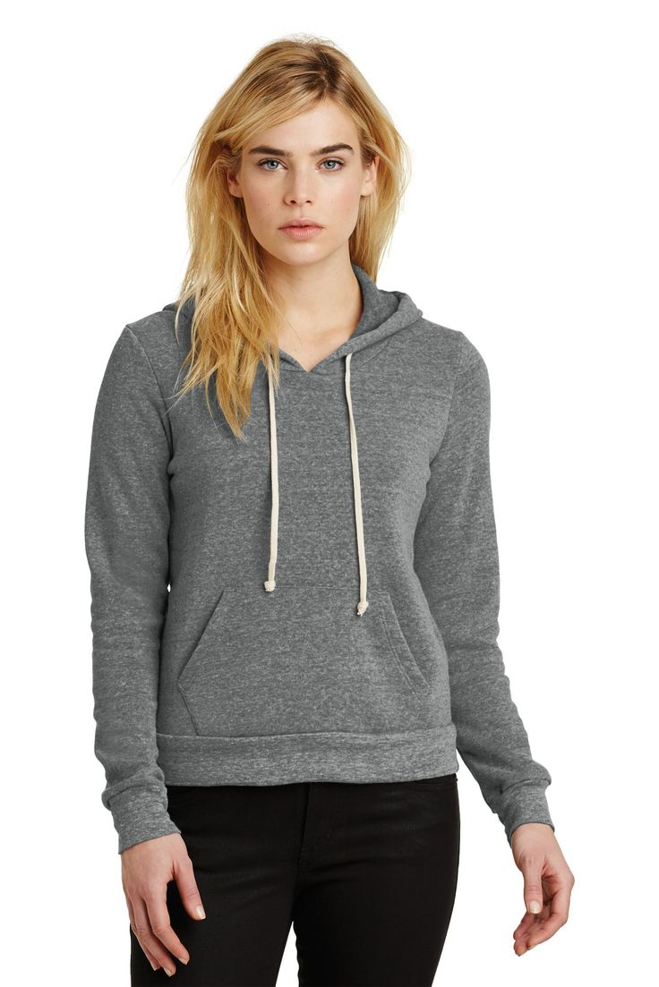 Alternative Athletics Eco-Fleece Pullover Hoodie
