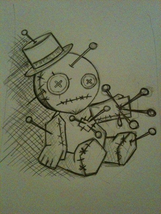 Voodoo Doll by ashtray-zombies.deviantart.com on @deviantART