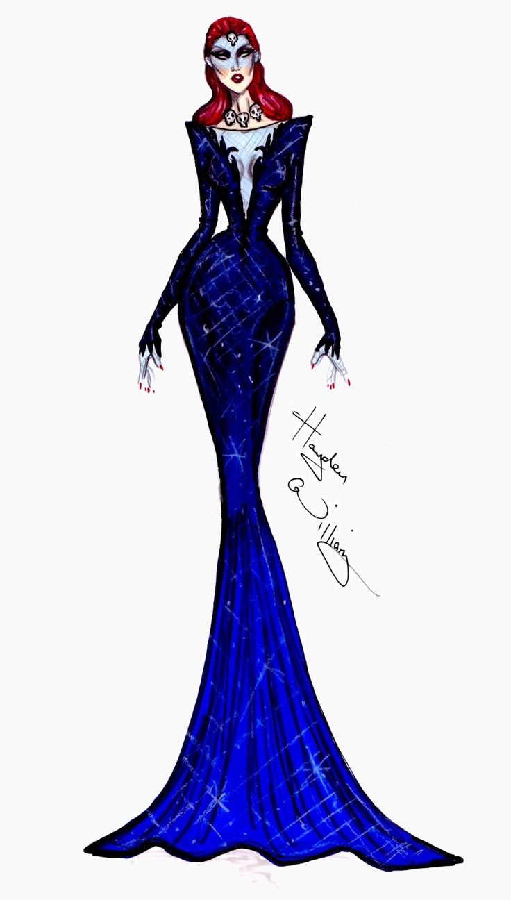 #Hayden Williams Fashion Illustrations: #Marvel Couture by Hayden Williams: Mystique