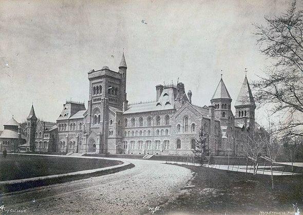 University College (U of T) 1880's