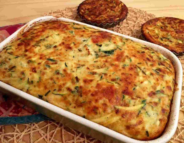 Receta para hacer Clafoutis de calabacines bajo en calorias Hola!! Soy la Fran, autora del blog Fran is in the Kitchen y éste es mi primera receta para Rec