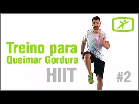 Treino Intenso para Queimar Gordura - Aula de HIIT #2 - Nível Intermediário - YouTube