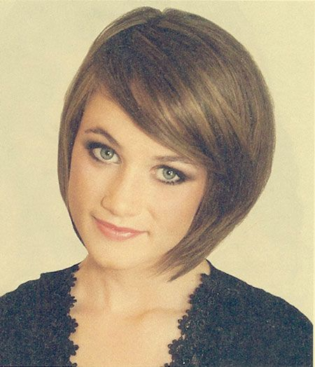 side sweep hair style hair bob with side swept bangs hair styles 4552