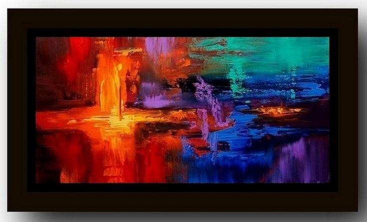 1000 ideas sobre pinturas abstractas al leo en pinterest for Fotos de cuadros abstractos al oleo