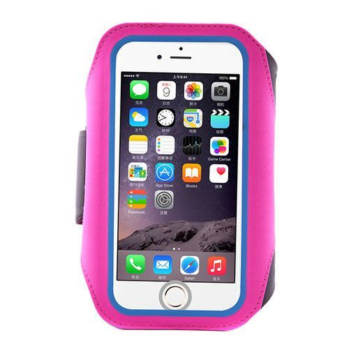 CONNICS 6 6S 7 / Plus Running Arm Band Case For Apple iPhone 5 5S SE Fingerprint Unlock Waterproof Lycra Fabric GYM Phone Holder