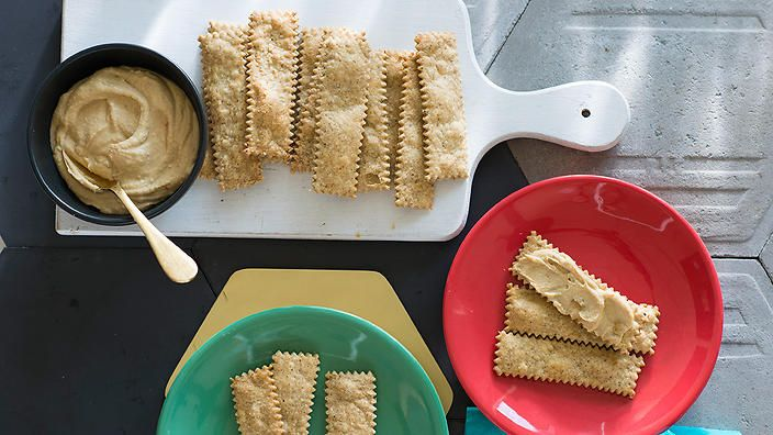 Spiced crackers | Biscuit recipes | SBS Food