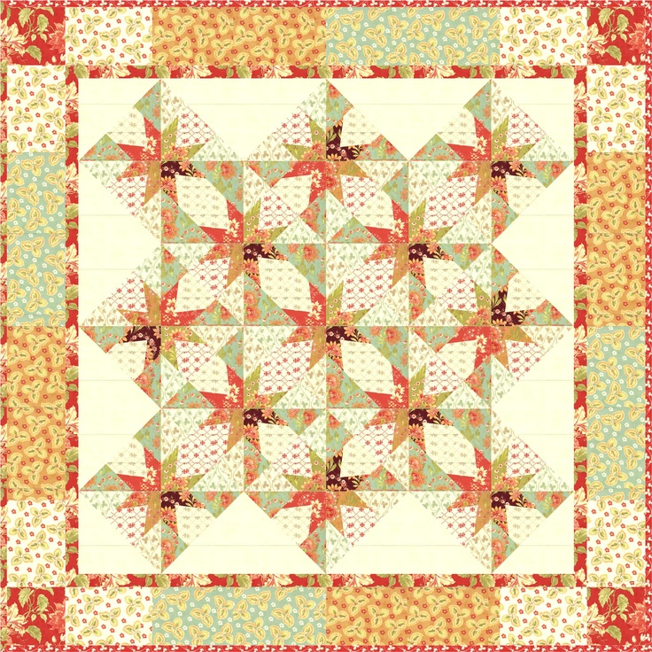 Split Stars quilt, a modern design with new techniques!: Stars Quilts, Modern Girls, Star Quilts, Split Stars, Modern Design
