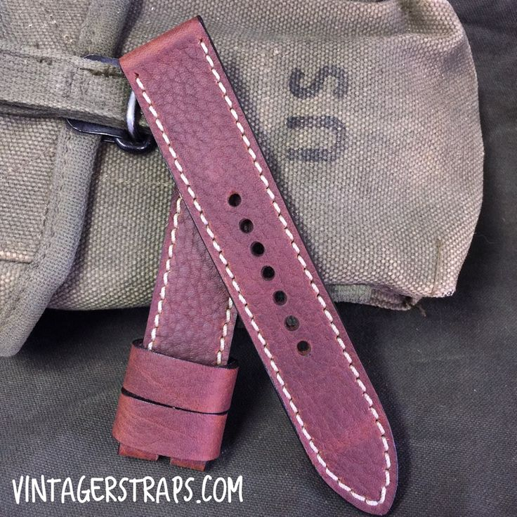 Prices for amazing custom watch straps are still lower than they've ever been before at www.vintagerstraps.com #vintagerstraps #paneraistraps #paneraicentral #handmade #madeintheusa #watchstraps #panerai #paneristi