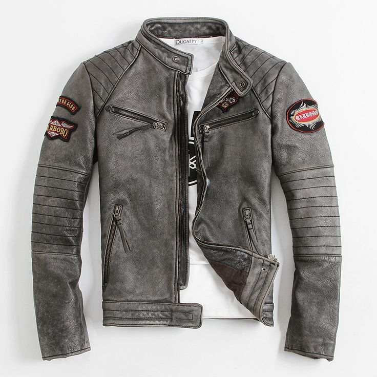 Find More Leather & Suede Information about 2016 New Men's Leather Jacket…