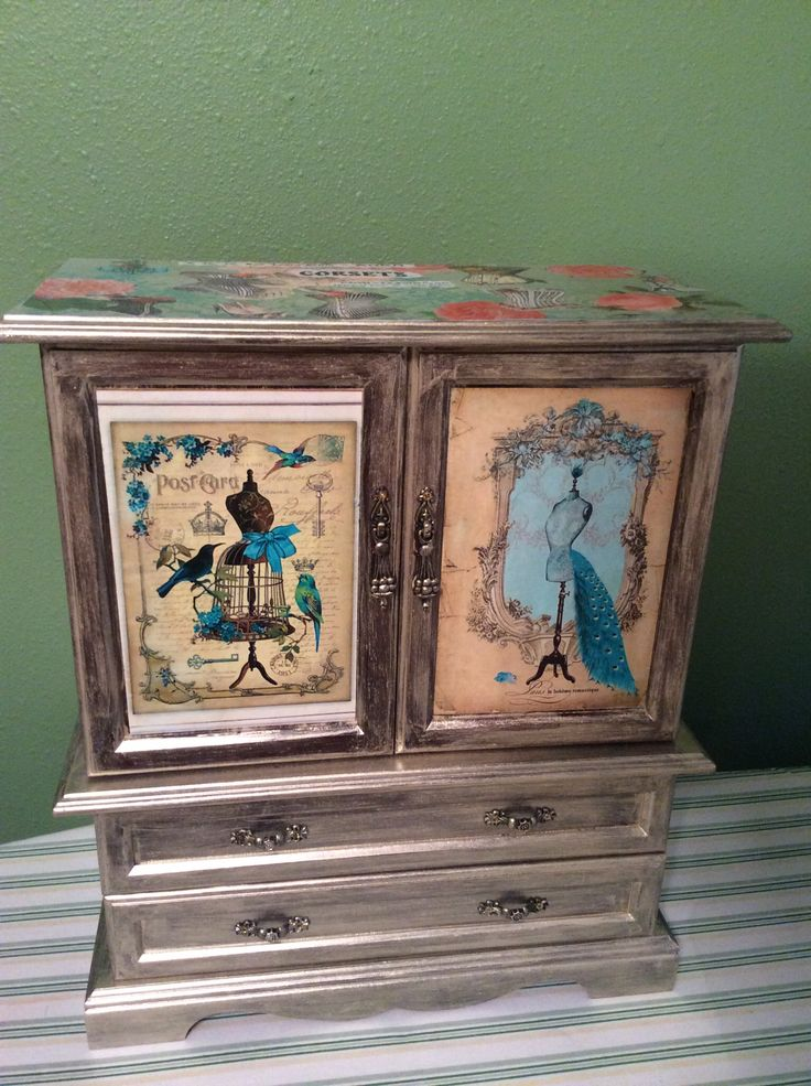 167 best awesome up cycled jewelry boxes images on pinterest