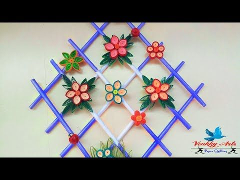 Best Out Of Waste Plastic bottles transformed to lovely lily plant Showpiece - YouTube
