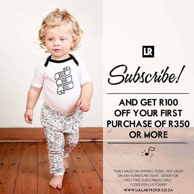 ⚡️ Want to stay up to date with our latest news, new products, specials and competitions? ⚡️ Then subscribe to our newsletter : http://lullabyrock.co.za/subscribe-to-our-newsletter/  *Shop online at: www.lullabyrock.co.za
