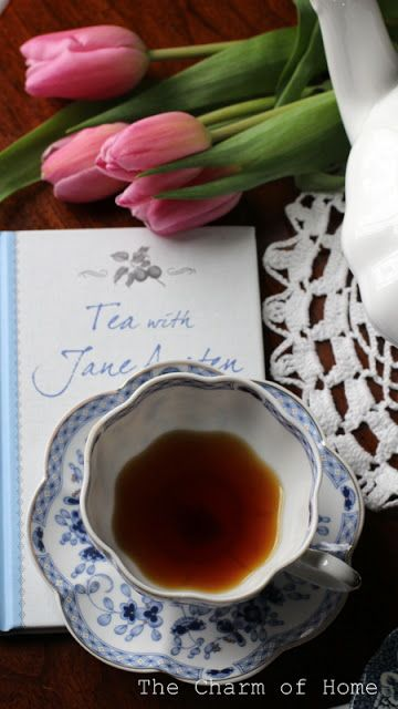 Tea with Jane Austen: The Charm of Home #bookreview