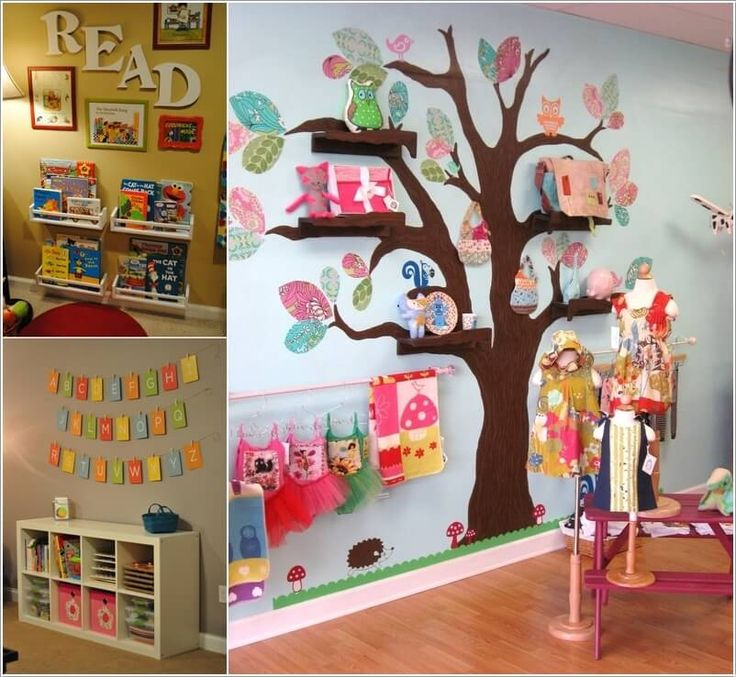 Decorate Your Kidsu0027 Playroom Wall With A Creative Idea Part 34