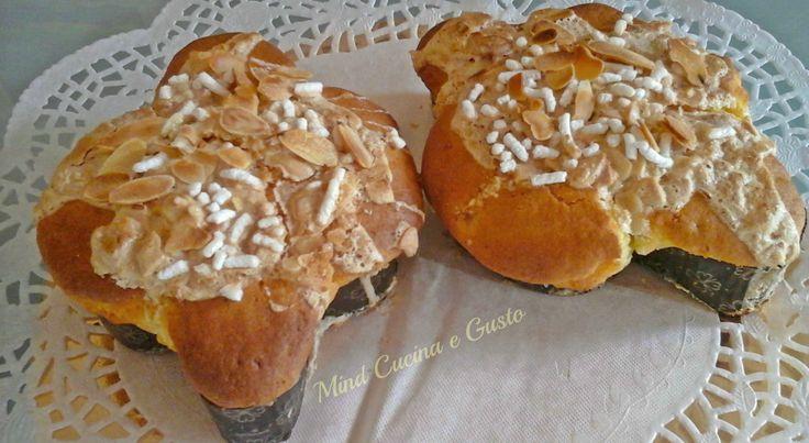 Colombine pasquali veloci versione facile e veloce per realizzare il dolce tradizionale, con glassa di zucchero e mandorle. Facilissima