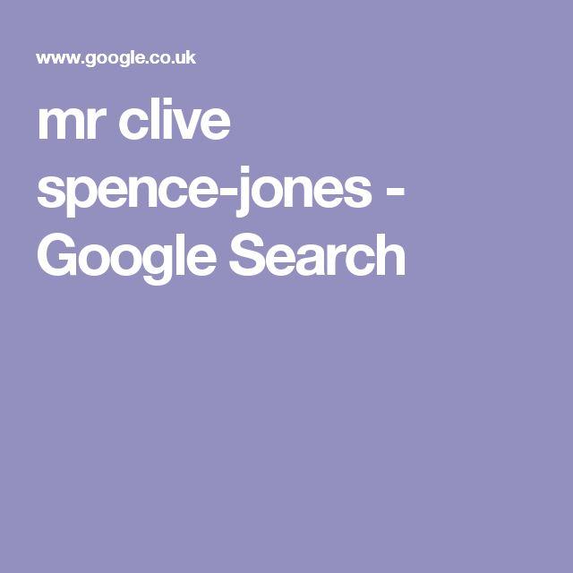 mr clive spence-jones - Google Search