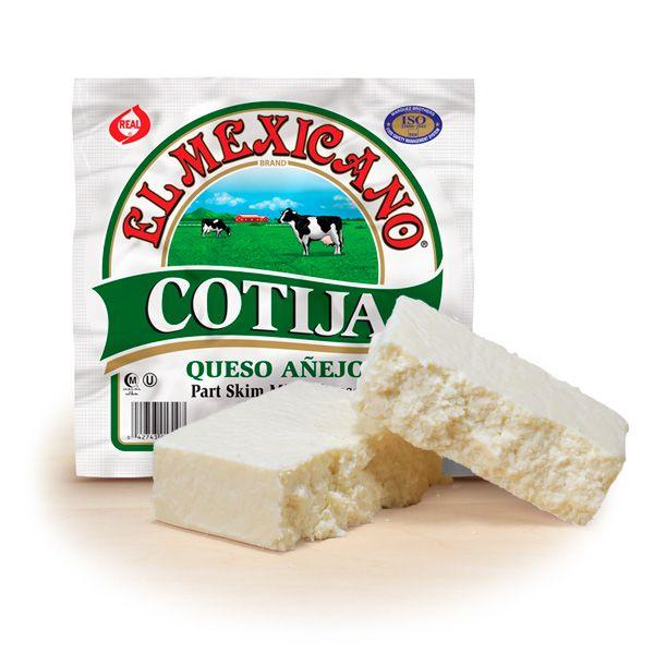 Cotija Cheese El Mexicano Queso Cotija 10 Oz Cotija Cheese Cheese Queso
