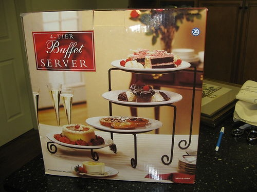 162 Best Images About Tiered Buffet Display Stands On