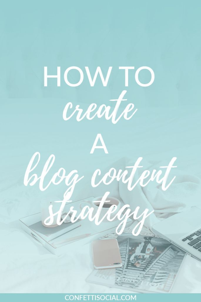 Learn how to craft a blog content strategy that will help take your blog to the next level today on Confetti Social.