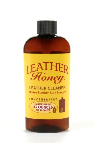Leather Cleaner by Leather Honey: The Best Leather Cleaner for Vinyl and Leather Apparel, Furniture, Auto Interior, Shoes and… #deals