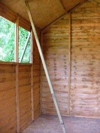 the finished sauna