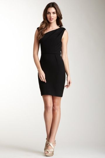Twenty8Twelve Tammy Asymmetrical Dress. (Because every girl needs a little black dress)