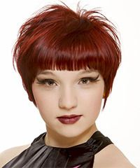Cute short hairstyle. Get a closer look @ http://www.thehairstyler.com