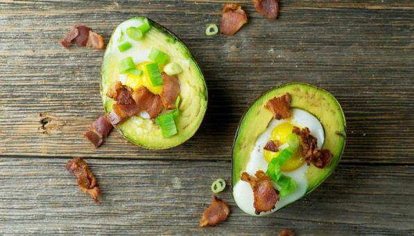 Ten Avocado Recipies!  Yes, one of them is avocado pasta sauce! But I'd really like to try these baked egg cups... Yum!!