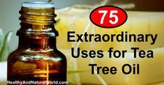 This is the ULTIMATE list on how to use Tee Tree oil - you will find here 75 amazing uses for Tee Tree oil with detailed instructions. Keep it for future reference now: print it, share it, like it and pin it. Get all the information you need in one place!