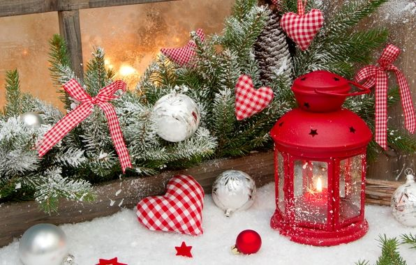 Обои картинки фото праздник, зима, снег, звезда, новый год